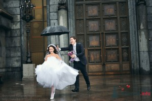 Wedding in the rain - photo2