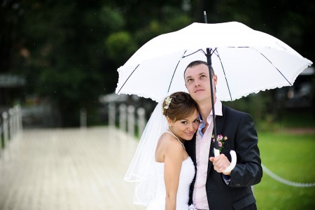 Wedding in the rain - photo3